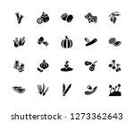vector illustration of 20 icons.... | Shutterstock .eps vector #1273362643