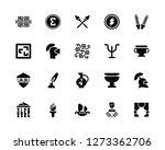 vector illustration of 20 icons.... | Shutterstock .eps vector #1273362706
