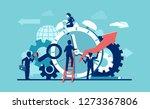 vector of businesspeople... | Shutterstock .eps vector #1273367806