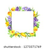 Spring Time Flowers. Floral...