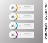 infographic options banner... | Shutterstock .eps vector #1273384780