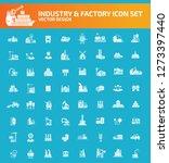 industry vector icon set | Shutterstock .eps vector #1273397440