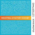 industry vector icon set | Shutterstock .eps vector #1273397443