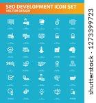 search engine optimisation... | Shutterstock .eps vector #1273399723