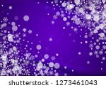 snow frame with ultraviolet... | Shutterstock .eps vector #1273461043