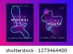 trance party. dynamic gradient... | Shutterstock .eps vector #1273464400