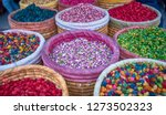 Baskets Of Colorful Natural...