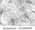 grunge abstract black... | Shutterstock . vector #1273504699