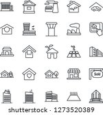 thin line icon set   airport...   Shutterstock .eps vector #1273520389