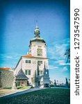jesuit college in kutna hora ... | Shutterstock . vector #1273547590