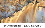 golden cliffs  tribute to... | Shutterstock . vector #1273587259