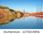 autumn scenery and modern... | Shutterstock . vector #1273614856