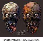 detailed graphic realistic cool ... | Shutterstock .eps vector #1273620223