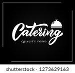 hand sketched lettering... | Shutterstock .eps vector #1273629163