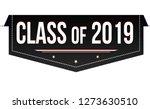 class of 2019 banner design on... | Shutterstock .eps vector #1273630510