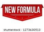 new formula banner design on... | Shutterstock .eps vector #1273630513