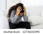 people  grief and domestic... | Shutterstock . vector #1273633390