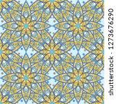 seamless oriental ornamental... | Shutterstock .eps vector #1273676290