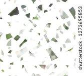 pattern terrazzo texture floor. ... | Shutterstock .eps vector #1273695853