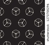 Dice Seamless Pattern Line...