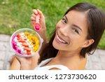 acai bowl healthy eating asian... | Shutterstock . vector #1273730620