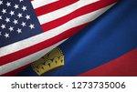 liechtenstein and united states ... | Shutterstock . vector #1273735006