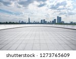 panoramic skyline and modern... | Shutterstock . vector #1273765609