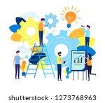 business concept vector... | Shutterstock .eps vector #1273768963