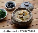 korean food soybean paste stew  ... | Shutterstock . vector #1273771843
