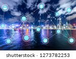 5g network wireless systems and ... | Shutterstock . vector #1273782253