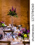 classy wedding setting.table... | Shutterstock . vector #1273784260