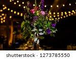 wedding cake at reception | Shutterstock . vector #1273785550