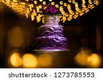 wedding cake at reception | Shutterstock . vector #1273785553