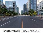 empty urban road and buildings | Shutterstock . vector #1273785613