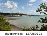cancale   brittany  france   ... | Shutterstock . vector #127380128