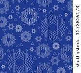vector seamless repeat pattern...   Shutterstock .eps vector #1273826173