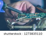 repair of electronic devices | Shutterstock . vector #1273835110