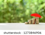 long term money investment and... | Shutterstock . vector #1273846906