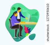 vector illustration of... | Shutterstock .eps vector #1273950610