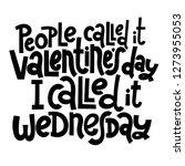 people called it valentine s... | Shutterstock .eps vector #1273955053
