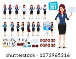 female business character... | Shutterstock .eps vector #1273965316