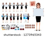 Female Business Characters Set...