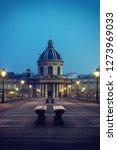 pont des arts in paris france | Shutterstock . vector #1273969033