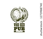 beer sticker concept line icon. ...