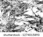 grunge abstract black... | Shutterstock . vector #1274015893