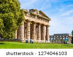 italy  may 2015   the ancient... | Shutterstock . vector #1274046103