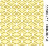 modern geometric shaped pattern.... | Shutterstock .eps vector #127405370