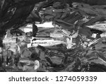 gray black and white gradient ... | Shutterstock . vector #1274059339