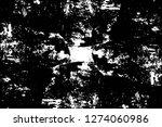 vector grunge overlay texture.... | Shutterstock .eps vector #1274060986