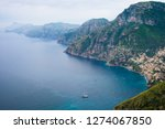 view of amalfi coast along the... | Shutterstock . vector #1274067850